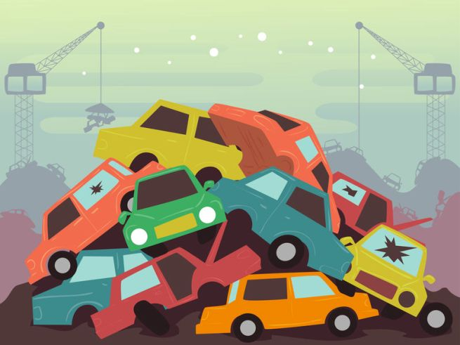 What Happens to a Wrecked Vehicle?