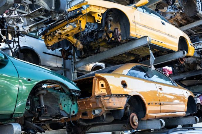 What Happens to Cars After They Arrive at Ace Auto Parts?
